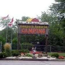 Campark Campground, near Niagara Falls Ontario