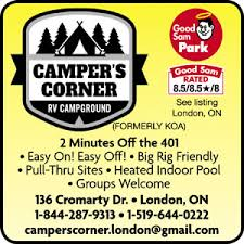 Campers Corners, near London Ontario