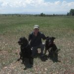 Bill and his 2 buddies - Lucky and Sierra