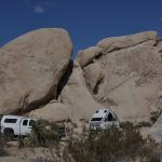 Cozy Camp site in White Tank, camp ground in Joshua Tree National Park