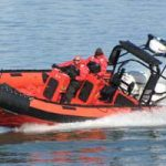 Canadian Coast Guard Zodiak